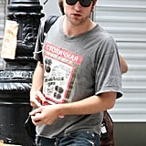 Photos of Robert Pattinson on the Set of Remember Me