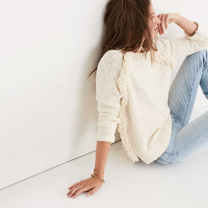 Madewell Loop-Edge Pullover Sweater | Cute Fall Sweaters ...