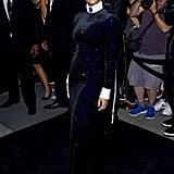 Janelle Monae at the Ralph Lauren New York Fashion Week Show