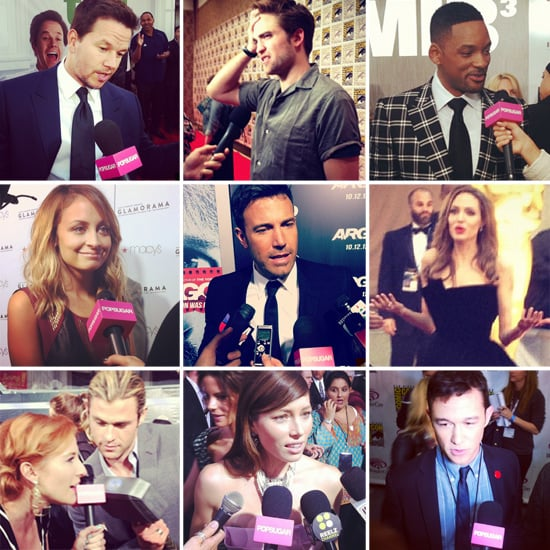 PopSugar Celebrity Instagram Pictures 2012
