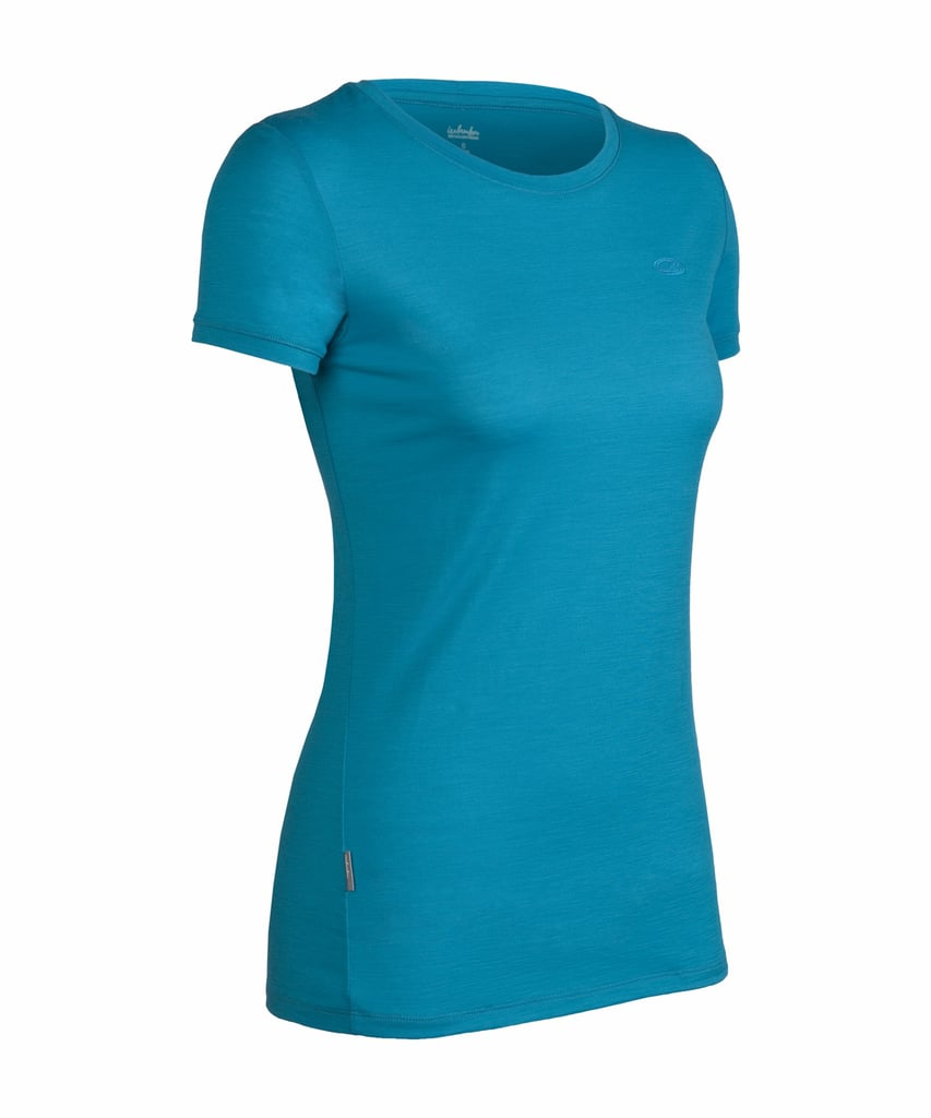 When looking for a hiking top, it's best to find something that's moisture-wicking, lightweight, and keeps you cool or warm depending on the conditions. Something very much like the Tech T Lite from Icebreaker ($65). Made from superfine merino wool, this shirt is top quality. It works in both cool- and warm-weather conditions, feels extremely comfortable on, and has built-in sun protection.