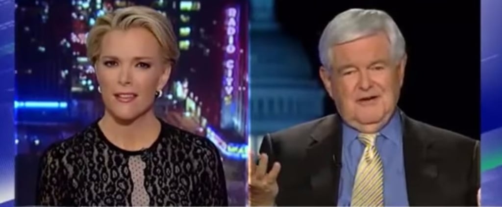 """""""You Are Fascinated With Sex"""": Watch Megyn Kelly's Nightmare Interview With Newt Gingrich"""