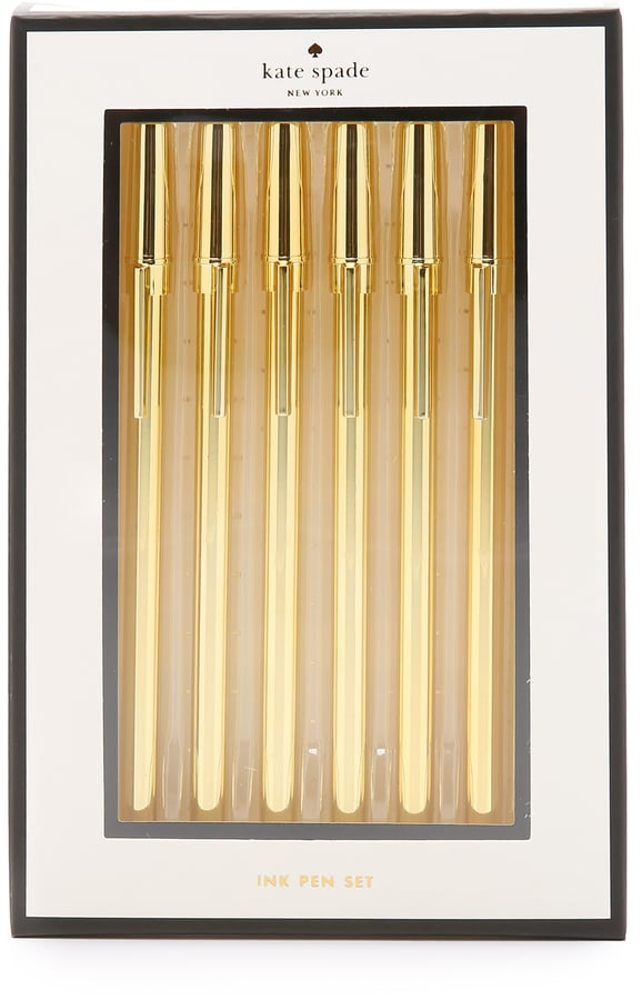 Now your mom can have a bunch of really nice pens at the bottom of her bag.  Kate Spade Strike Pen Set ($25)