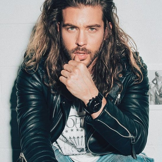 Hot Guy With Long Hair