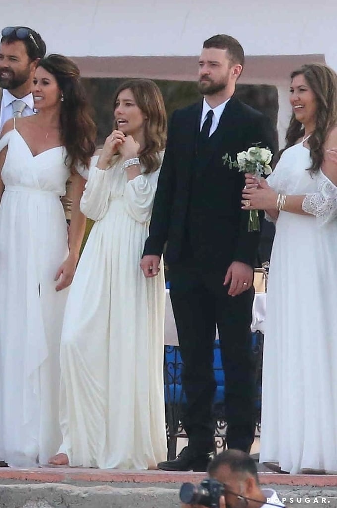 Justin Timberlake Wedding.Justin Timberlake And Jessica Biel At Her Brother S Wedding
