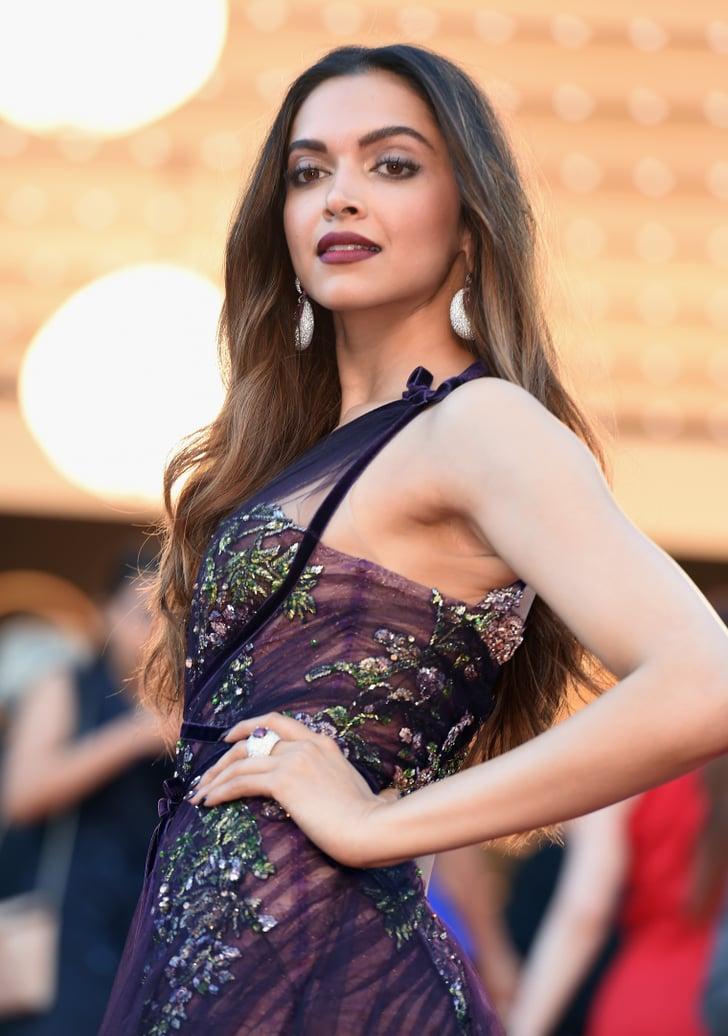 Deepika Padukone at the 70th Annual Cannes Film Festival ...