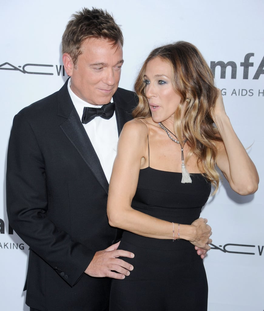 Sarah Jessica Parker stepped out in LA for the amfAR 3rd Annual Inspiration Gala.