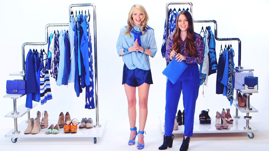 How to Wear Blue Trend 2015 | Video