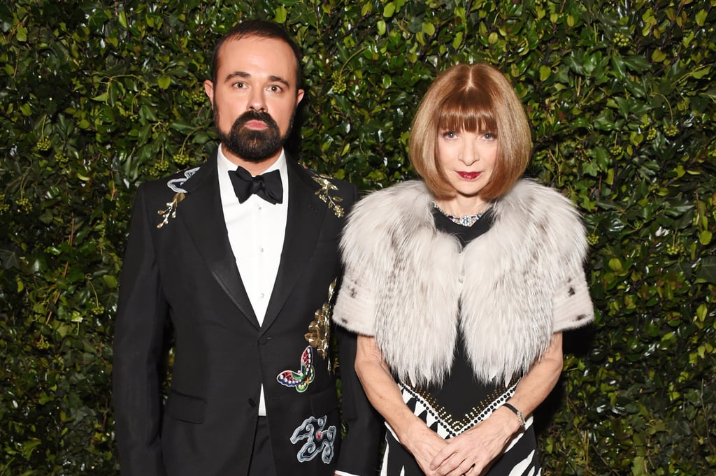 Evgeny Lebedev and Anna Wintour