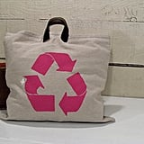 Upcycled Canvas Tote