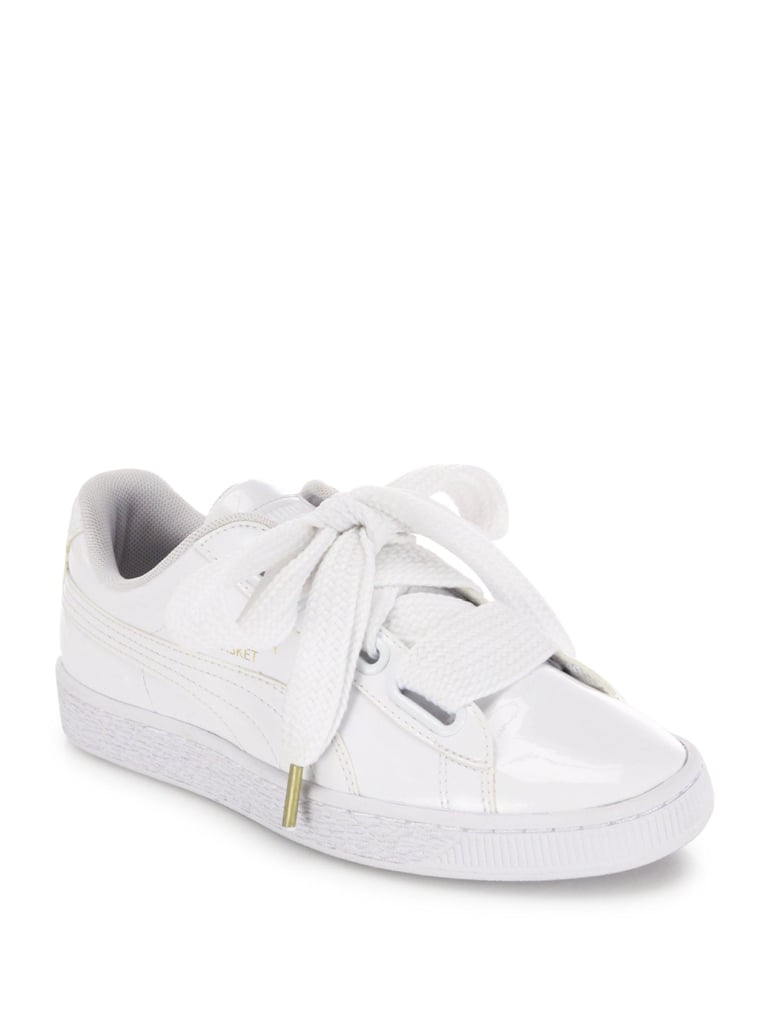 cheap for discount ba85a 54013 Puma Basket Heart Patent Sneakers ($85) | Jennifer Aniston ...
