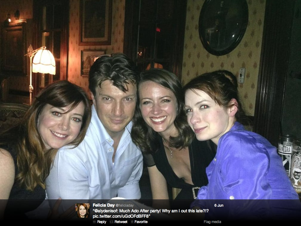 Geek & Sundry's Felicia Day joins fellow favorite geeks Nathan Fillion and Alyson Hannigan.