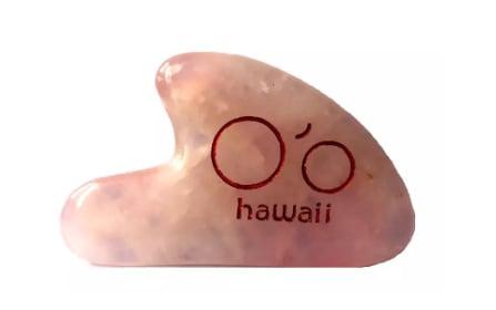 O'o Hawaii Rose Quartz Gua Sha Beauty Tool | What is a Gua