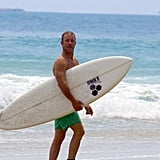Scott Caan went surfing in Hawaii on Saturday.