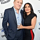 Pictured: Francois-Henri Pinault and actor Salma Hayek