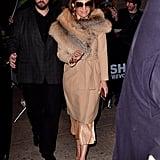 A Fur-Collar Coat