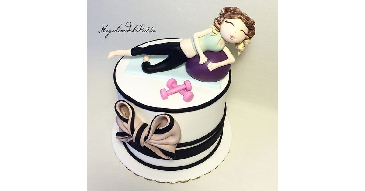Fitness Themed Cakes Popsugar Fitness Photo 34