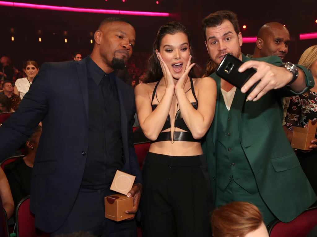 Pictured: Jamie Foxx, Hailee Steinfeld, and David Osokow
