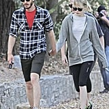 Andrew Garfield and Emma Stone Go Hiking Hand in Hand