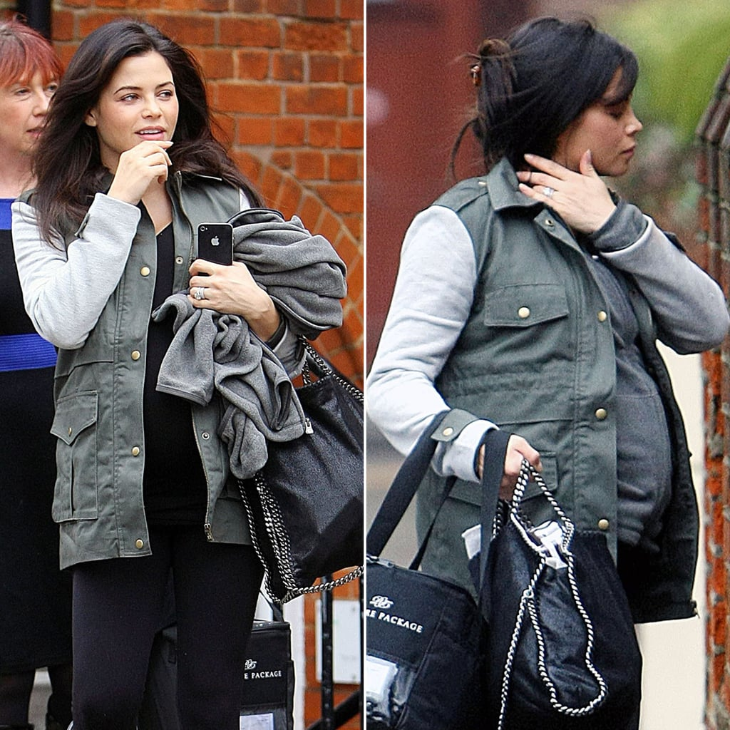 Pregnant Jenna Dewan in London | Pictures