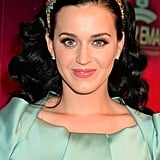 Katy Perry never shies away from a bold look, and her rainbow-coloured headband for the MTV EMA awards featured jewelled flowers in a myriad of bright hues.