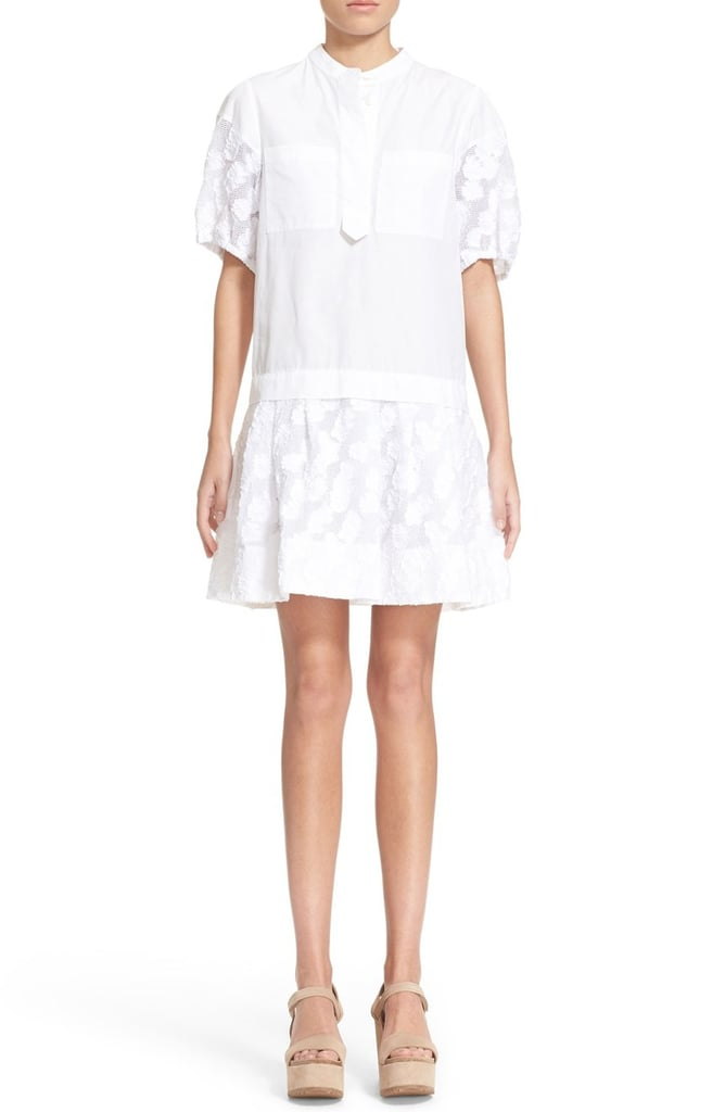 d367b2b3de See By Chloe Poplin Dress ($465) | White Dresses For Your Wedding ...