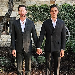 Antoni Porowski and Trace Lehnhoff Instagram Photo December 2018