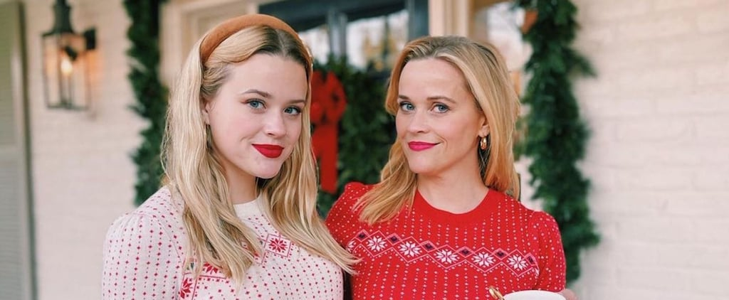 Reese Witherspoon, Ava Phillippe Match in Christmas Jumpers