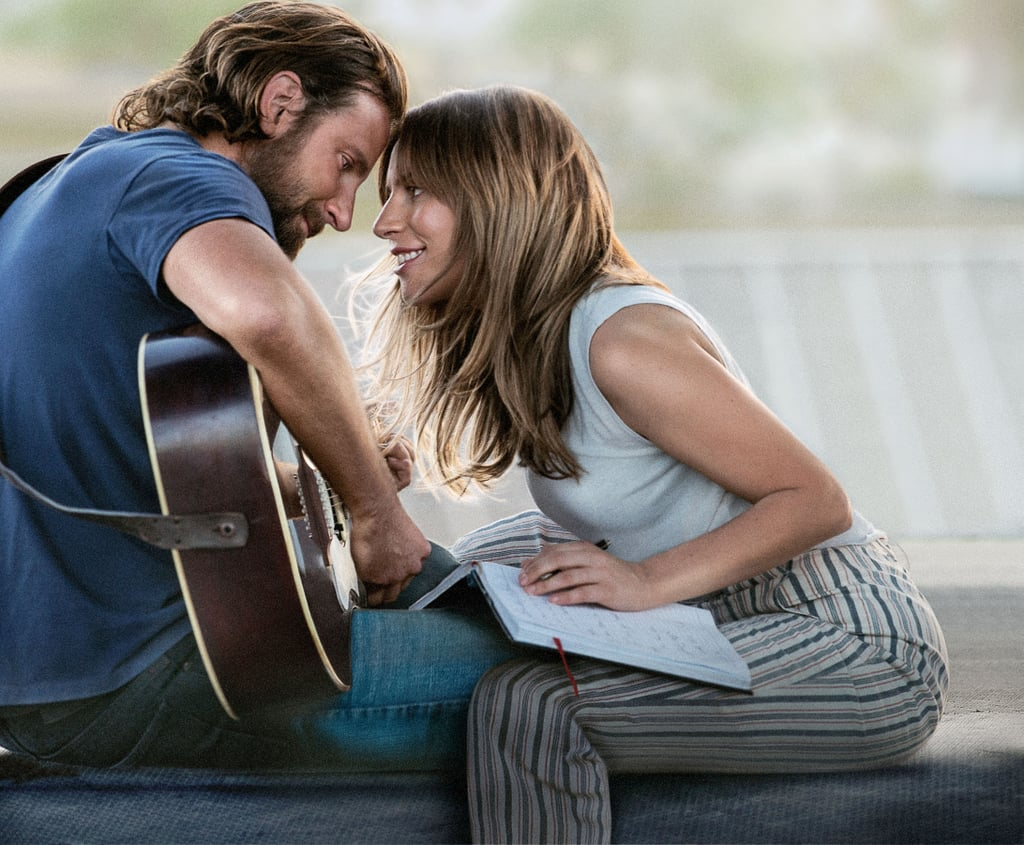 """It's been a year since Lady Gaga and Bradley Cooper tugged at our heartstrings in the remake of A Star Is Born. The highly acclaimed film, which hit theatres on Oct. 5, 2018, threw us off the deep end, thanks to the undeniable chemistry between its leading stars. In celebration of the movie's first anniversary, Lady Gaga gave it a special shout-out on social media. The singer, who's now rocking rose-coloured hair, shared a sweet photo of her holding a multiplatinum plaque awarded for the film's amazing soundtrack. """"A year ago, A Star was Born, and here we are 6 times pink platinum,"""" she captioned the snap. View this post on Instagram A post shared by Lady Gaga (@ladygaga) on Oct 5, 2019 at 10:00am PDT In June, the A Star Is Born album surpassed six million global sales and became certified double platinum in the US. The film also had an impressive award season, earning honours at this year's Grammys, Critics' Choice Awards, and BAFTA Awards. Lady Gaga and Cooper's powerful song """"Shallow"""" even inspired countless amazing covers and became our go-to karaoke jam. In honour of the film's first anniversary, look ahead to view more stills from the heart-wrenching masterpiece!"""