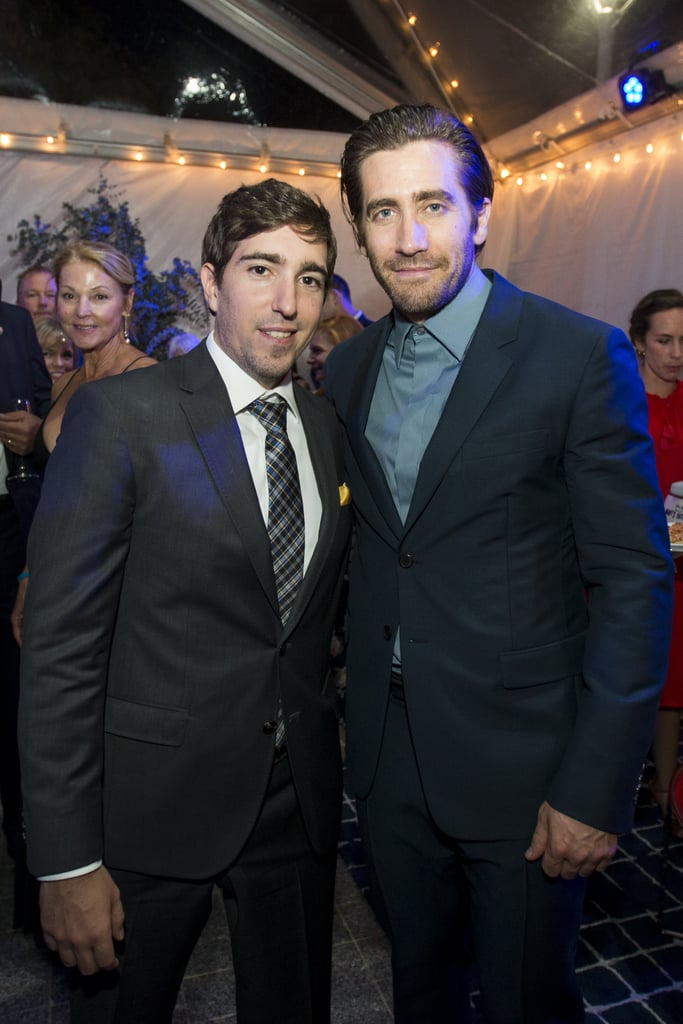 """Jake Gyllenhaal stars in the biopic Stronger, which follows Boston Marathon bombing survivor Jeff Bauman and his road to recovery after losing both of his legs in the 2013 blast. The movie is based on Bauman's memoir of the same name and is already garnering award season buzz for Jake, who has stepped out on a few occasions with the man he portrays — they've been to sporting events, industry panels, and most recently, to the film's red carpet premiere in Boston. See the best photos of Jake and Jeff together, and watch the heartbreaking film Stronger when it hits theaters on Sept. 22.      Related:                                                                                                           44 Pictures of Jake That Will Have You Saying """"Gyllenhaal-alujah!"""""""