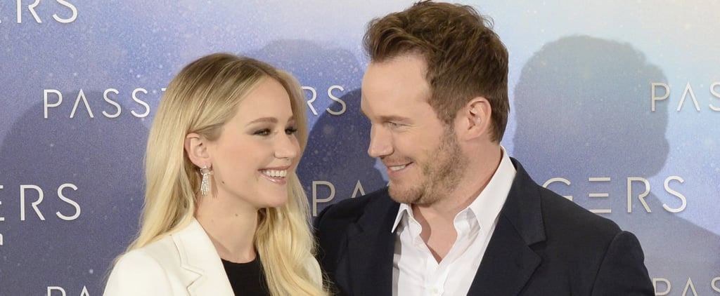 Chris Pratt Explains the Reason Behind His Habit of Cropping Jennifer Lawrence Out of Photos
