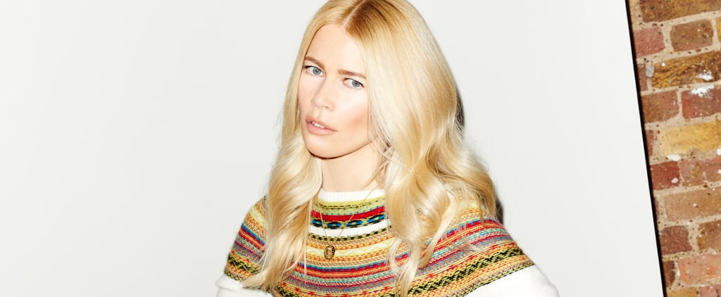 Claudia Schiffer's Cashmere Collection Will Make You Forget All About Summer