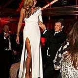 Heidi Klum and Nathan Fillion
