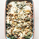 Chicken Spinach Pizza Couscous Casserole