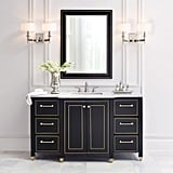 Florence Vanity With Marble Vanity Top ($1275, originally $1699)