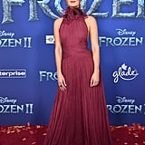 Rachel Matthews at the Frozen 2 Premiere in Los Angeles