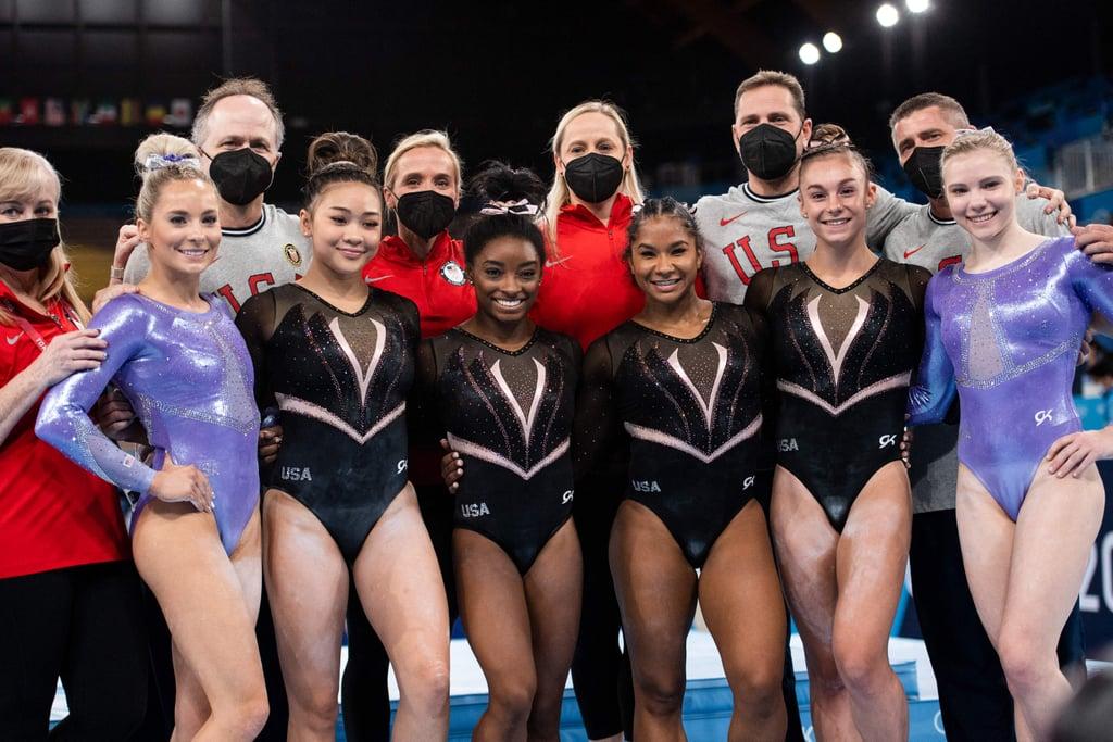 US Women's Gymnastics Team Olympics Podium Training Videos