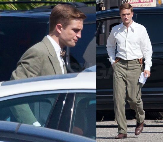 Pictures of Robert Pattinson Filming Water For Elephants at UCLA