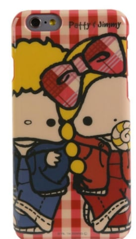 Patty and James Phone Case