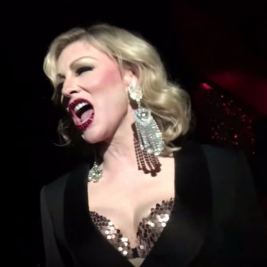 Cate Blanchett Lip-Syncing at Drag Show February 2017