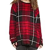 UNIF Plaid Sweater