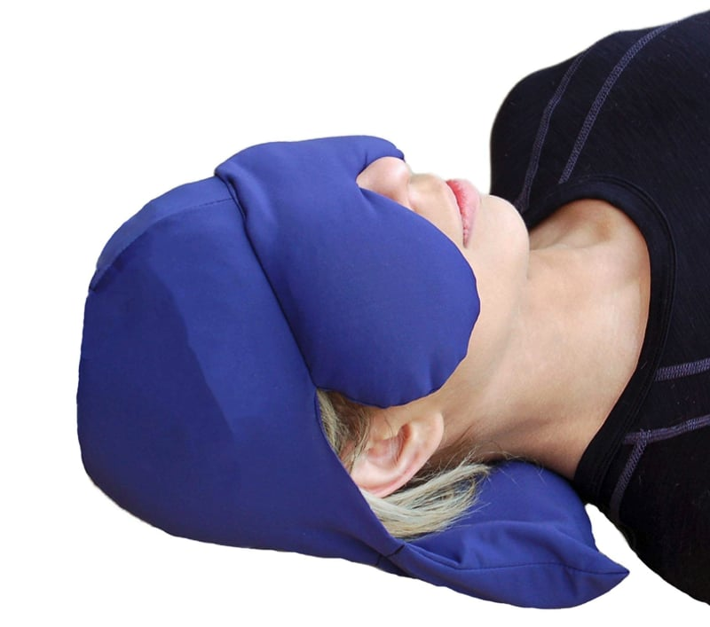 Sinus Pressure and Migraine Headache Relief Cap and Eye Mask
