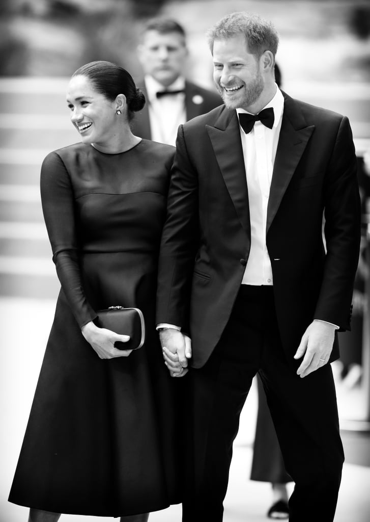Prince Harry and Meghan Markle Black and White Photos