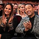 Pictured: John Legend and Chrissy Teigen