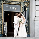 Brandi and Janeth made their love official with an intimate wedding ceremony at San Francisco City Hall. See the wedding here!