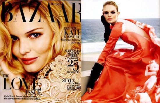 Kate Bosworth in Harper's Bazaar