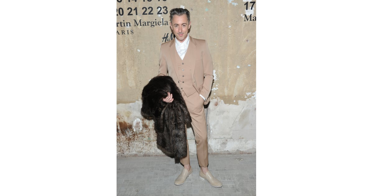 Alan Cumming stepped out to attend the launch of Maison ...