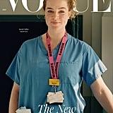 Rachel Millar on the British Vogue July 2020 Cover