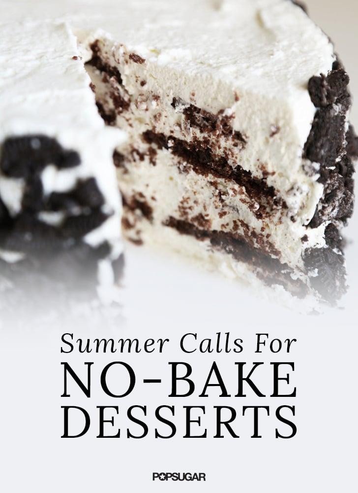 Summer Calls For No-Bake Desserts