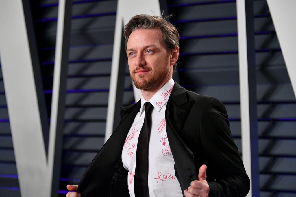 James McAvoy's Signed Oscars Shirt Brings Back So Many School Memories